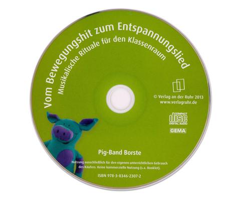 CD - Vom Bewegungshit zum Enspannungslied-2