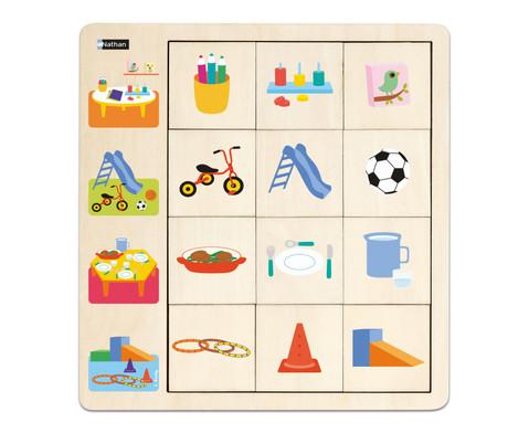 LudiTab Puzzle Schau genau -6