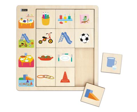 LudiTab Puzzle Schau genau -3