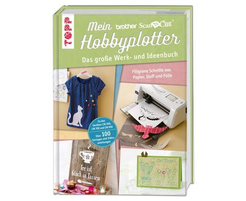 Buch Mein brother ScanNCut Hobbyplotter