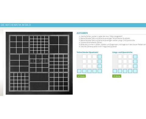 Interaktive Tafelbilder Mathematik und konkrete Kunst-6