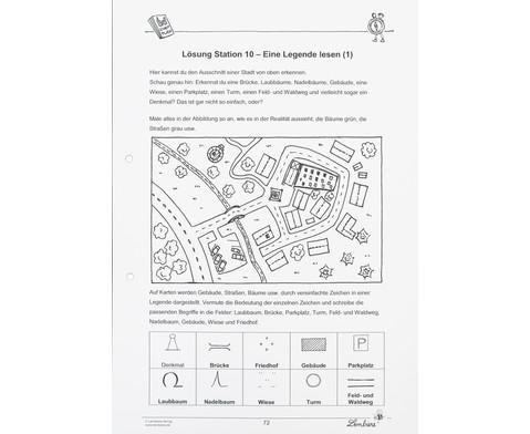 Lernwerkstatt Gut orientiert mit Kompass und Karte-4