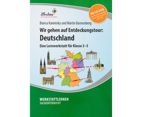 Lernwerkstatt Wir gehen auf Entdeckungstour Deutschland