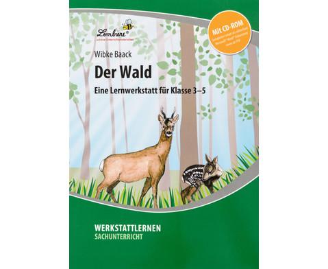 Lernwerkstatt Der Wald mit CD-ROM