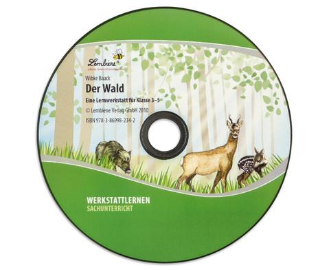 Lernwerkstatt Der Wald mit CD-ROM-2
