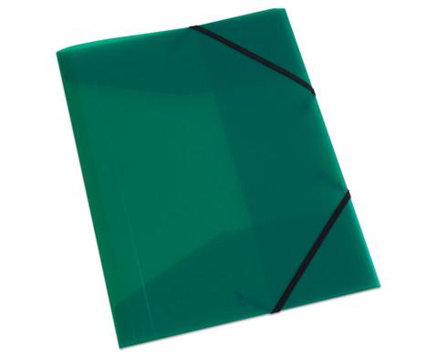 Gummizugmappe DIN A4 aus Kunststoff - Set mit 2 Stueck-10