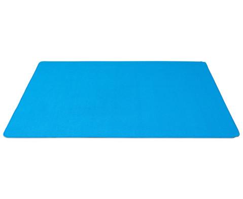 Kurzflor-Teppich 2 x 2 m-5