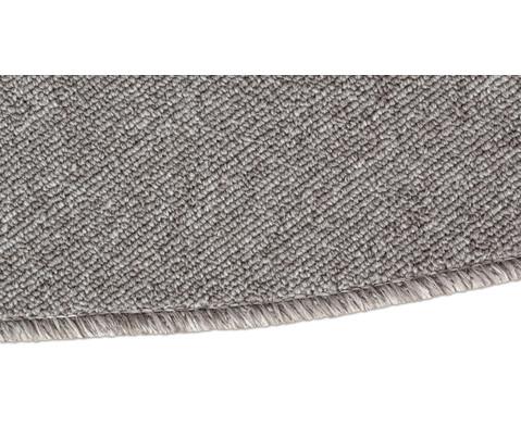 Kurzflor-Teppich rund  2m-6