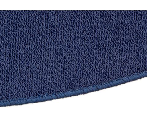 Kurzflor-Teppich rund  3m-6