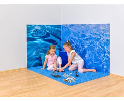 Erlebnisecke aus Wand-  Bodenteppiche-6