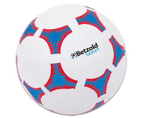 Betzold Sport Schulhof-Fussball blau