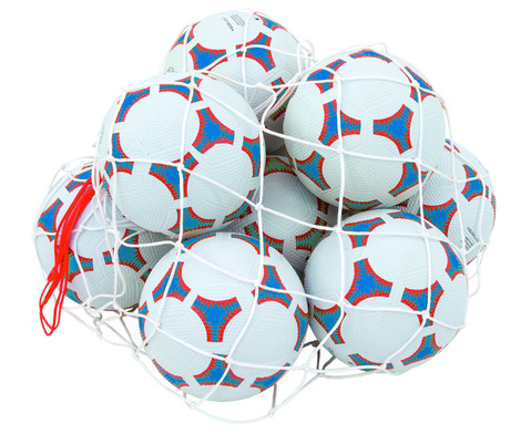 Schulhof-Fussball-Set blau