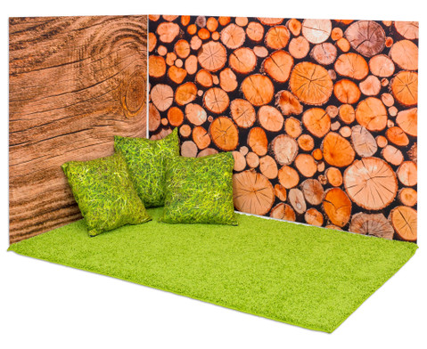 Erlebnisecke aus Wand-  Bodenteppiche-2