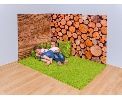 Erlebnisecke aus Wand-  Bodenteppiche-3