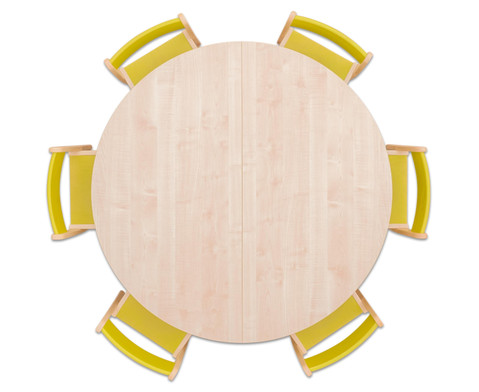 Moebel-Set Rondo Sitzhoehe 30 cm Tischhoehe 52 cm Ahorn-6