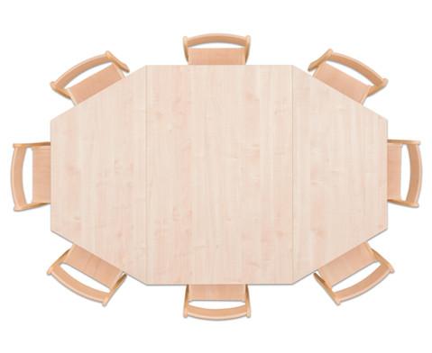 Moebel-Set Batur Sitzhoehe 42 cm Tischhoehe 70 cm Ahorn-2