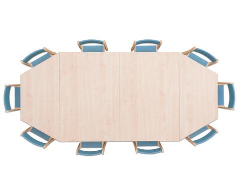 Moebel-Set Kusuma Sitzhoehe 30 cm Tischhoehe 52 cm Ahorn-8
