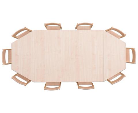 Moebel-Set Kusuma Sitzhoehe 42 cm Tischhoehe 70 cm Ahorn-2