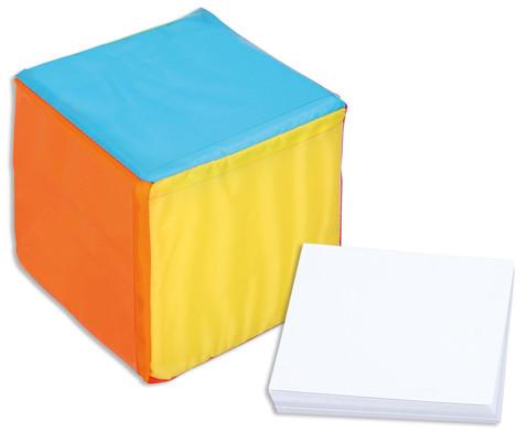 Pocket Cube mit Blanko-Karten