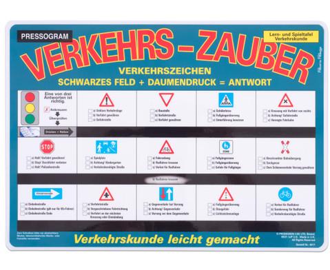 Zaubertafel Verkehrszeichen