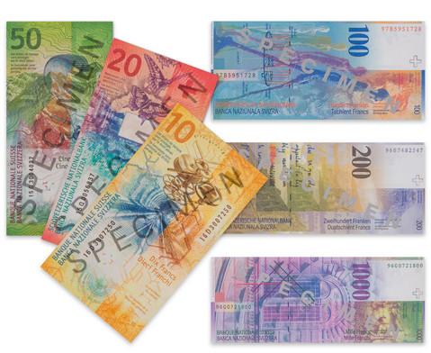 Betzold Rechengeld Schweizer Franken Banknoten