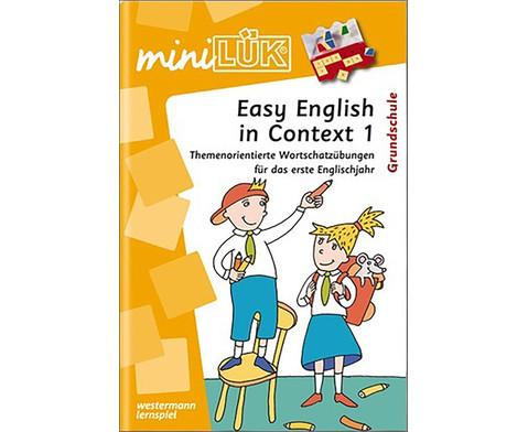 miniLUEK Easy English in Context