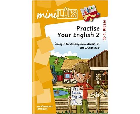 miniLUEK Practise Your English 2