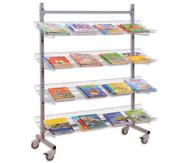 Ständer für  Lesematerial/Prospekte Modell LR 15 EN, einseitig