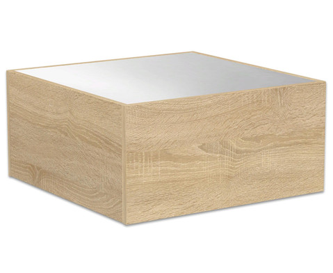 Podest - Quadrat mit Spiegel 75x75 cm
