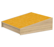 Podest - Übergangsrampe 75x75 cm