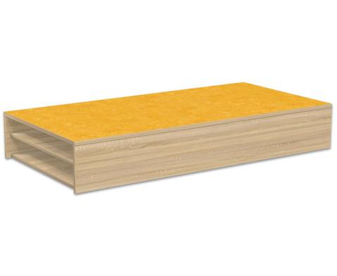 Podest-Rechteck fuer Liegepolster 150 x 75 cm