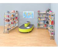 Montage Bücherregal per lfm. m