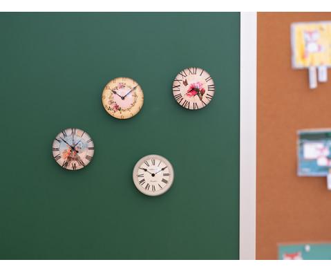 Motivmagnete rund 4 Stueck im Set Durchmesser 4 cm-13