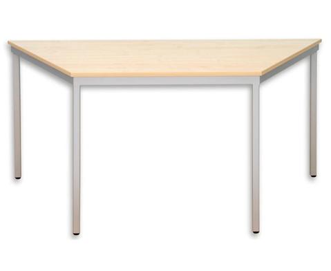 Trapeztisch A lange Seite 130 cm