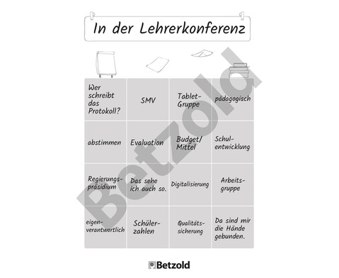 Bullshit-Bingo fuer Lehrer-innen Spielebloeckchen-3