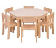 Betzold Möbel-Set Trapo, 8-teilig