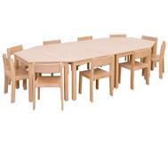 Betzold Möbel-Set Kusuma, 14-teilig