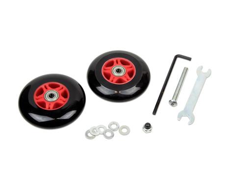 winther Ersatzrad für den Foot Hand Twister, 2 Stück Ausführung Vorderrad