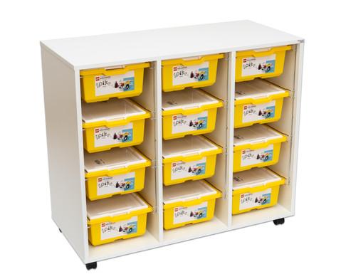 LEGO Education Wagen mit 12 LEGO Education SPIKE Prime Sets