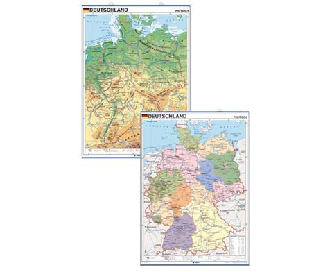 Laenderkarte Deutschland