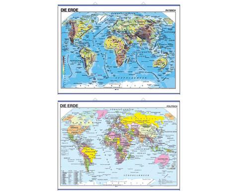 Landkarte Die Erde