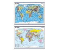 Landkarte: Die Erde
