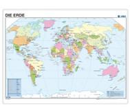 Posterkarte Erde