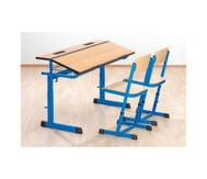Schülertisch Ecoflex, höhenverstellbar von 58 bis 70 cm