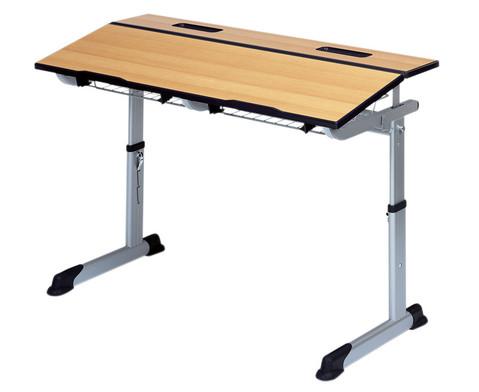 Aluflex-Einer-Tisch DIN-ISO Groessen 4567