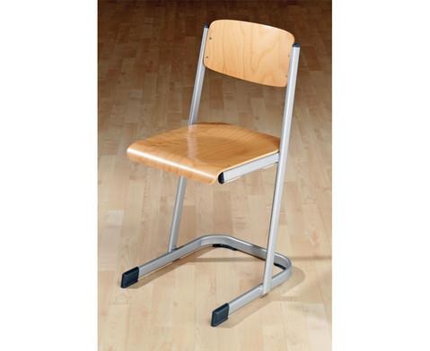 Schuelerstuhl mit Knierolle Sitzhoehe 50 cm