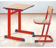 Einzel-Schülertisch, Tischhöhe: 58 cm
