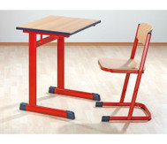 Einzel-Schülertisch,Tischhöhe: 82 cm