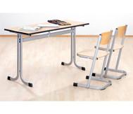 Zweier-Tisch, Tischhöhe: 58 cm