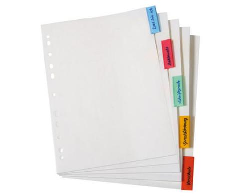 Register aus Kunststoff-4